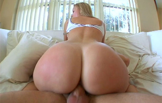 Big Ass Amateur Blonde Riding